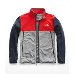 Image of The North Face Australia TNF Medium Grey Heather-Fiery Red-Urban Navy MEN'S GLACIER ALPINE JACKET