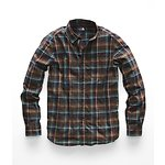 Image of The North Face Australia Bracken Brown Hubert Plaid MEN'S LONG-SLEEVE HAYDEN PASS 2.0 SHIRT