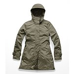 Image of The North Face Australia New Taupe Green 1L WOMEN'S CITY BREEZE RAIN TRENCH