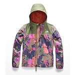 Image of The North Face Australia Four Leaf Clover Agave Print GIRLS' RESOLVE REFLECTIVE JACKET