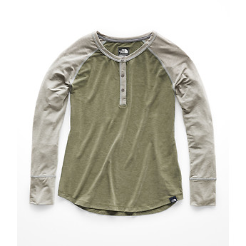 Image of The North Face Australia  WOMEN'S IN-A-FLASH REGLAN HENLEY