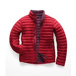 Image of The North Face Australia Rage Red/Fig Brown MEN'S STRETCH DOWN JACKET