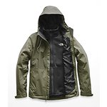 Image of The North Face Australia Four Leaf Clover-Four Leaf Clover Mountain Dobby WOMEN'S ARROWOOD TRICLIMATE JACKET