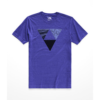 Image of The North Face Australia  MEN'S S/S GOOD OLE GEODE TRI-BLEND TEE