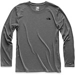 Image of The North Face Australia TNF DARK GREY HEATHER MEN'S HYPERLAYER FD LONG SLEEVE CREW